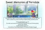 Ad for Sweet Memories of Ferndale cookbook